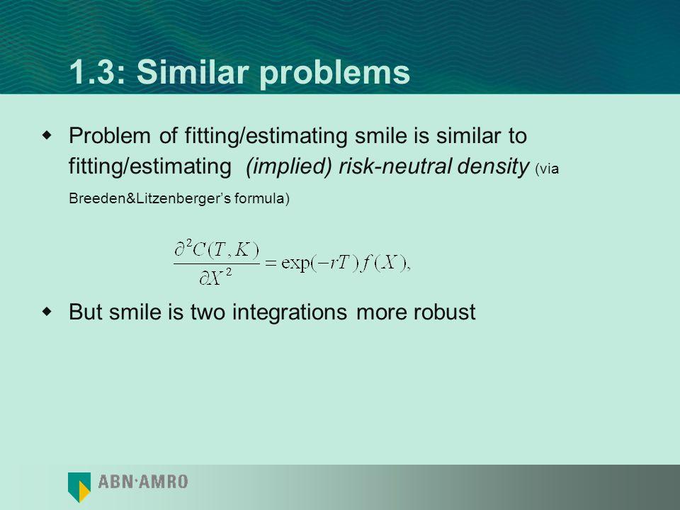 1.3: Similar problems
