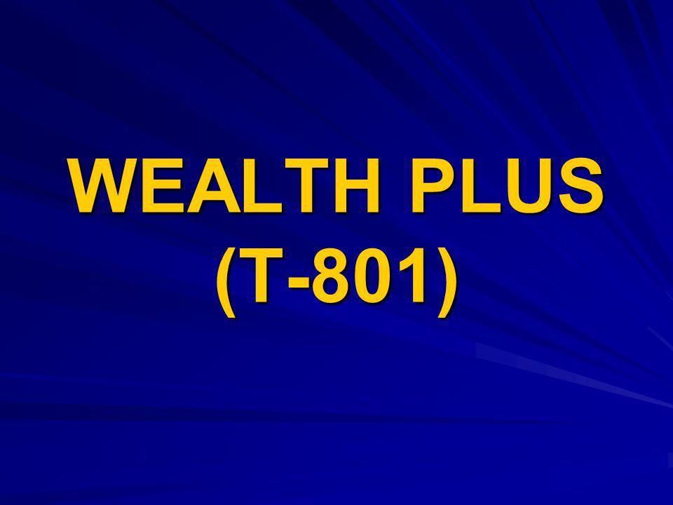 WEALTH PLUS (T-801)