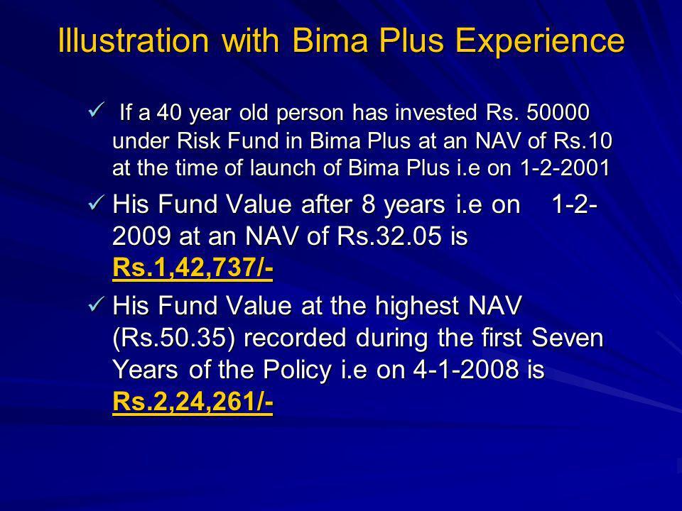 Illustration with Bima Plus Experience