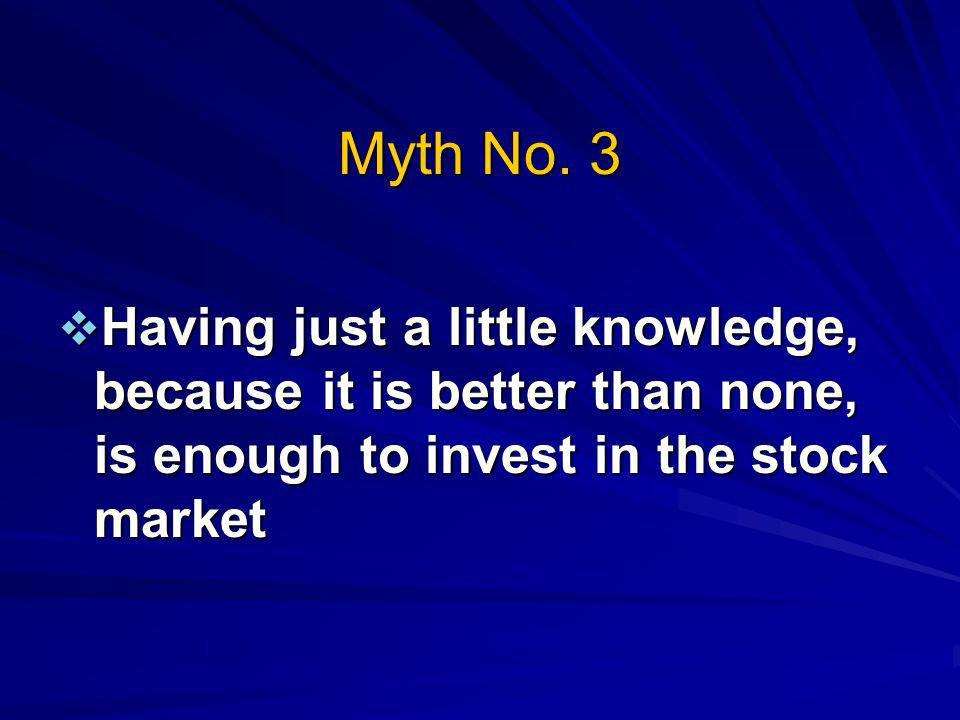 Myth No.