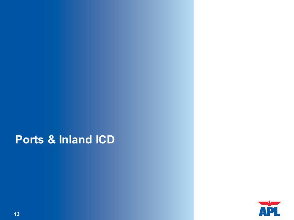 Ports & Inland ICD 13 13