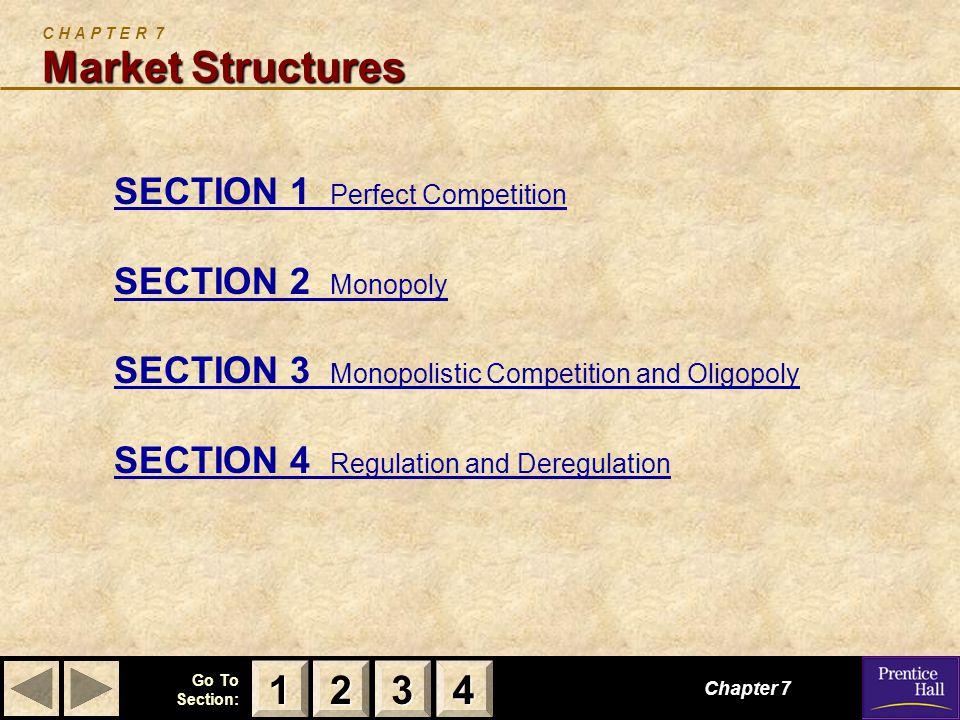C H A P T E R 7 Market Structures