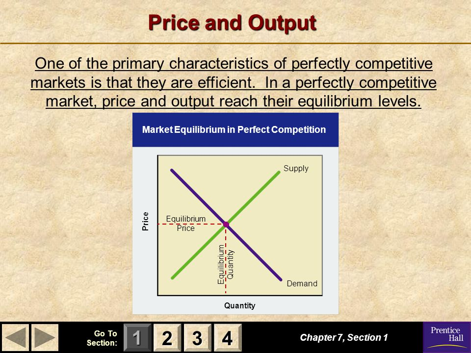 Price and Output