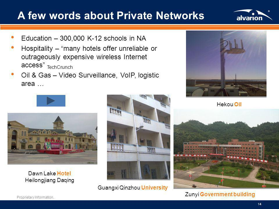 A few words about Private Networks