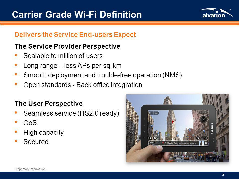 Carrier Grade Wi-Fi Definition