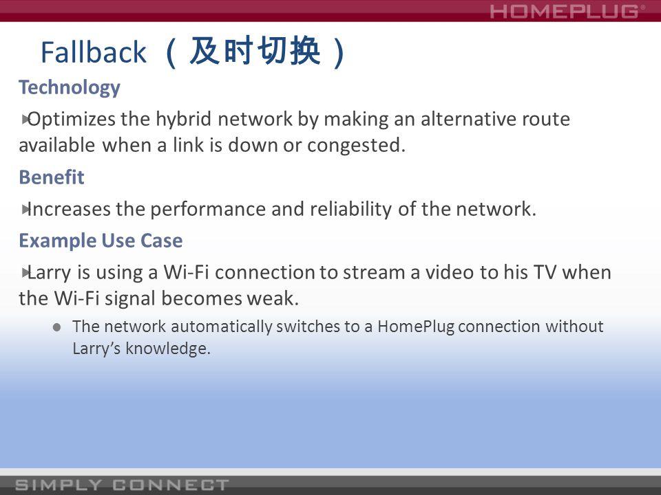 Fallback (及时切换) Technology