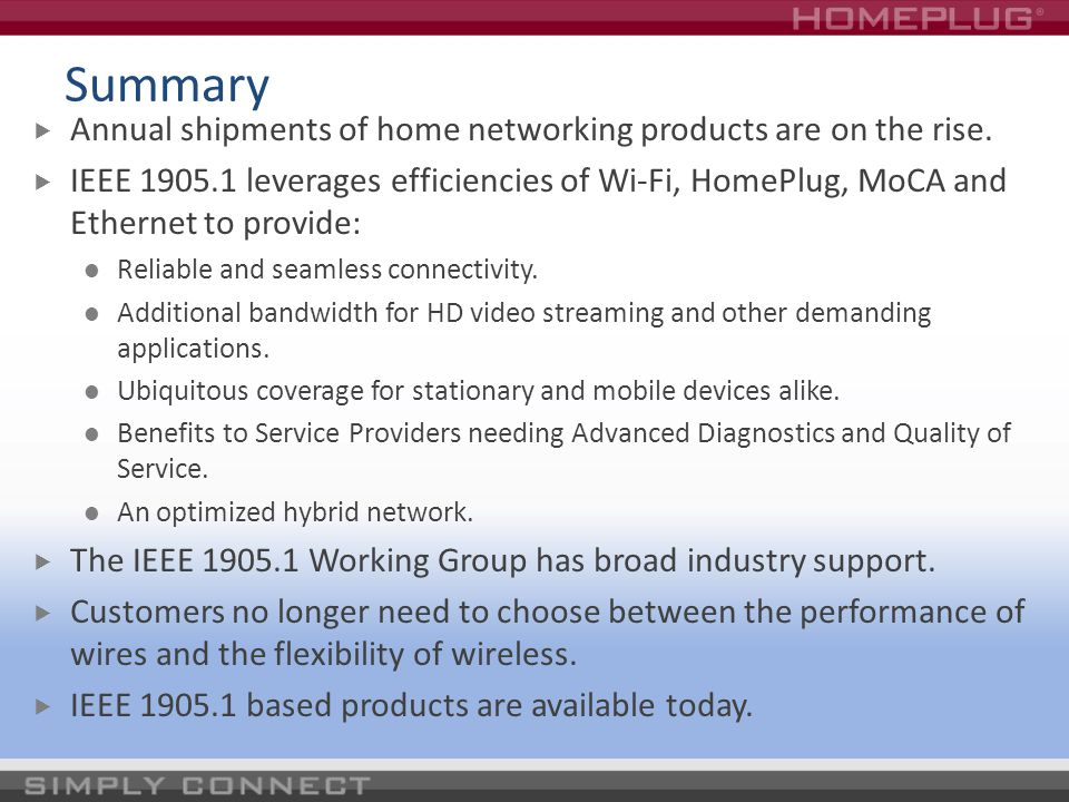 Summary Annual shipments of home networking products are on the rise.