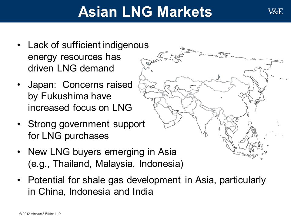 Asian LNG Markets Lack of sufficient indigenous energy resources has driven LNG demand.