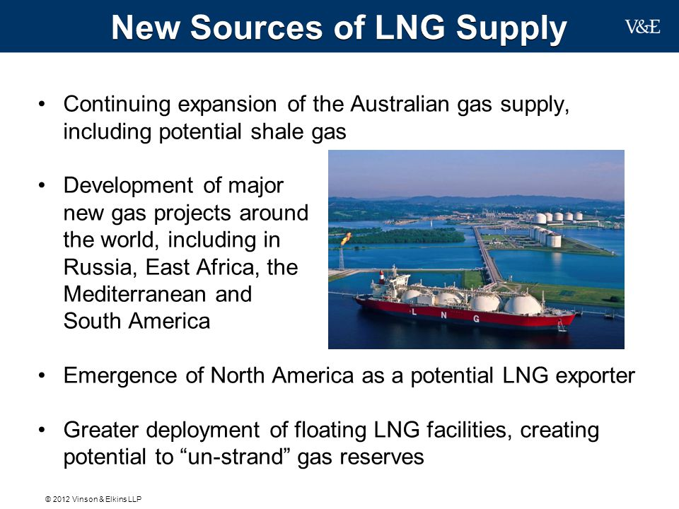 New Sources of LNG Supply