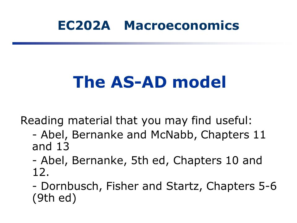 A Model of the Macro-Economy: - Harper College