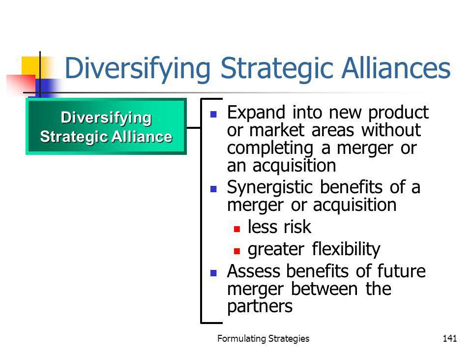 Diversifying Strategic Alliances