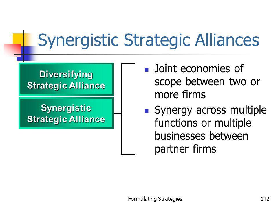 Synergistic Strategic Alliances