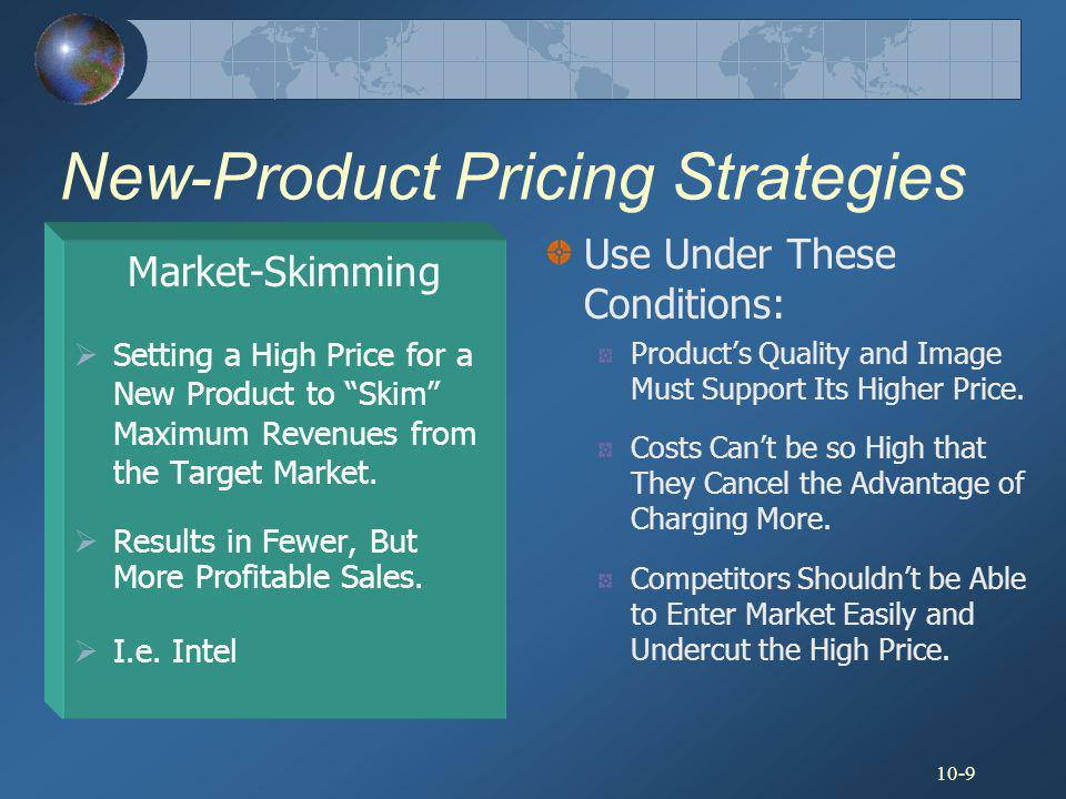 new product pricing strategies Popular price points: there are certain price points (specific prices) at which people become much more willing to buy a certain type of product for example, under $100 is a popular price point for example, under $100 is a popular price point.