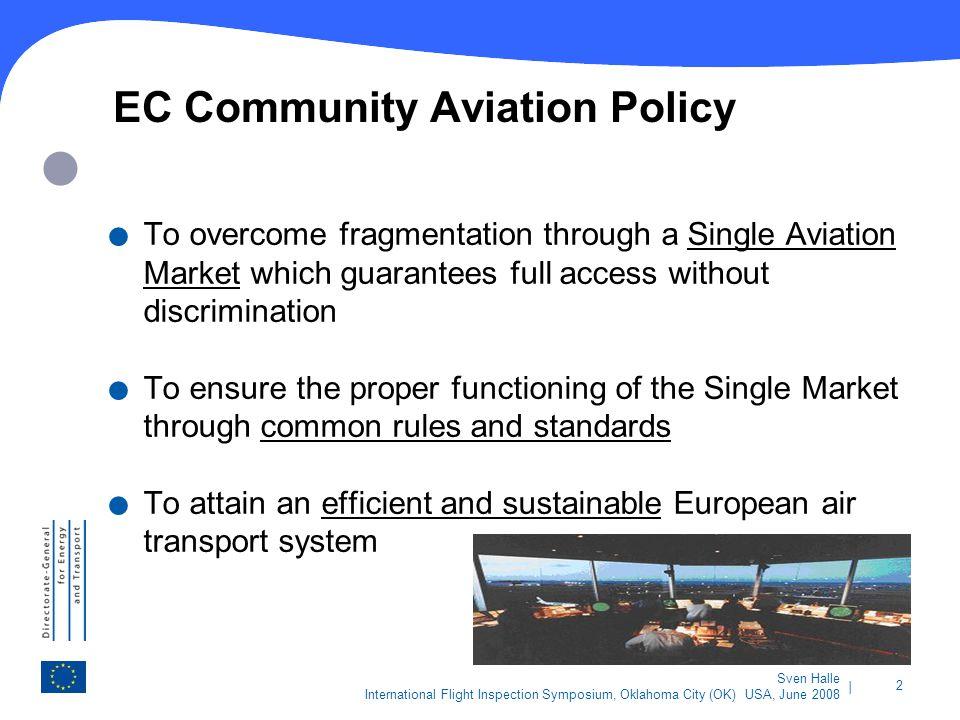 EC Community Aviation Policy