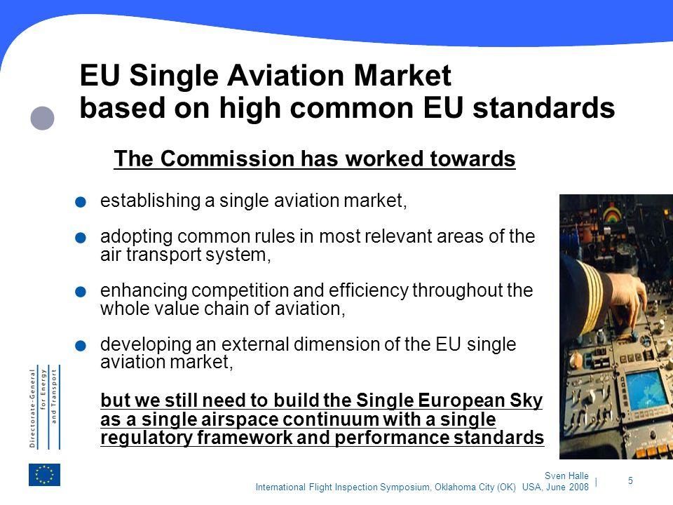 EU Single Aviation Market based on high common EU standards