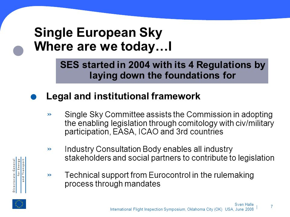 Single European Sky Where are we today…I
