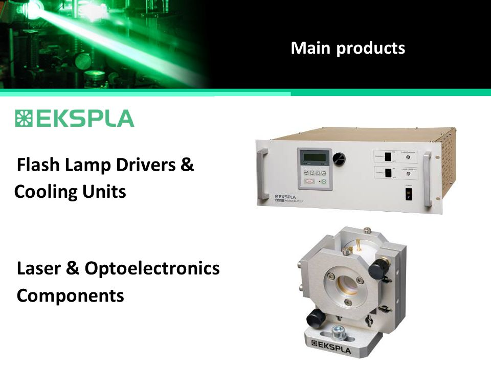 Laser & Optoelectronics Components