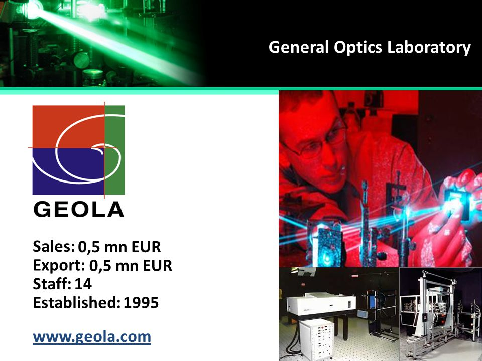 General Optics Laboratory