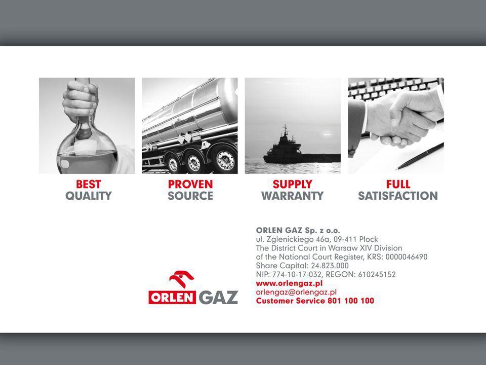 ORLEN GAZ – najlepszy wybór