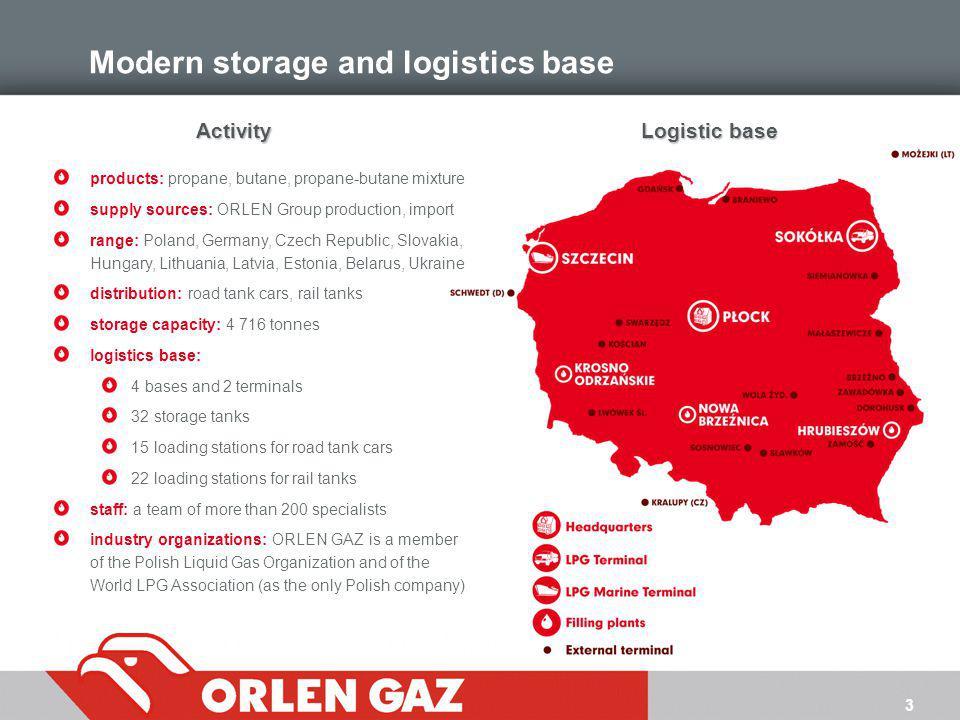 Modern storage and logistics base