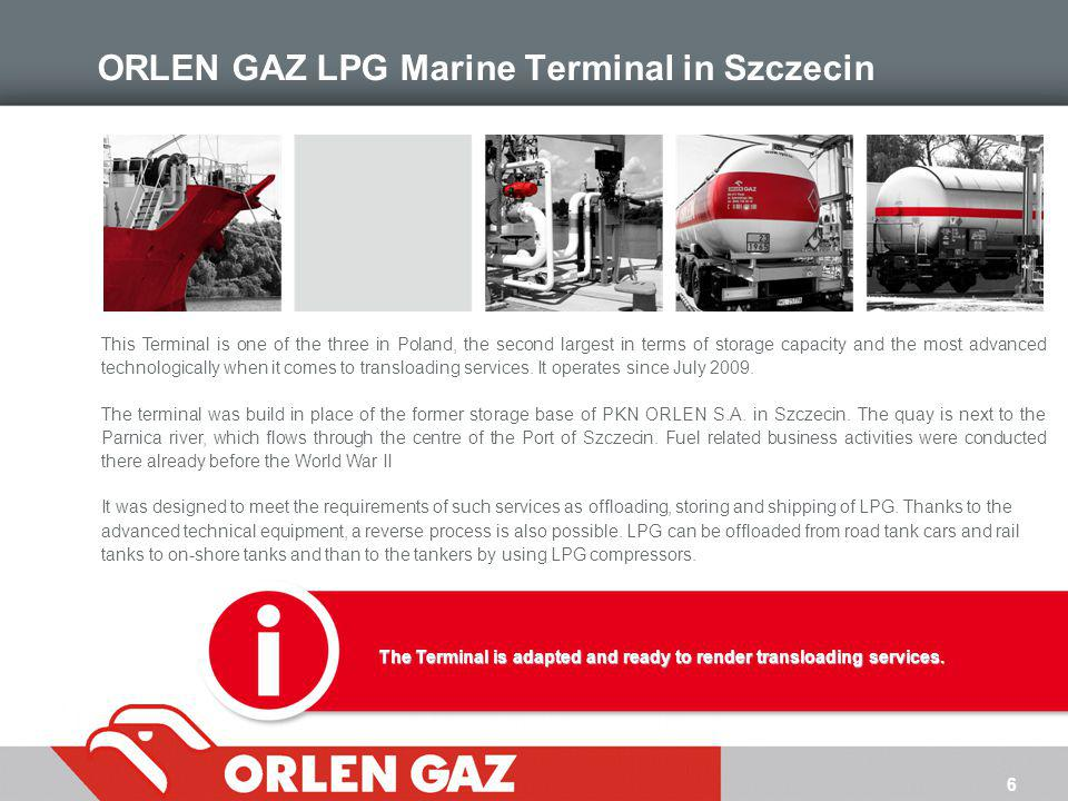 ORLEN GAZ LPG Marine Terminal in Szczecin