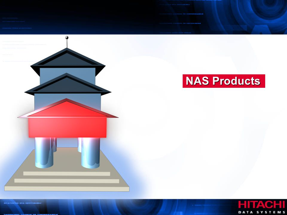 NAS Products Hitachi Data Systems. Authorized Use Only.