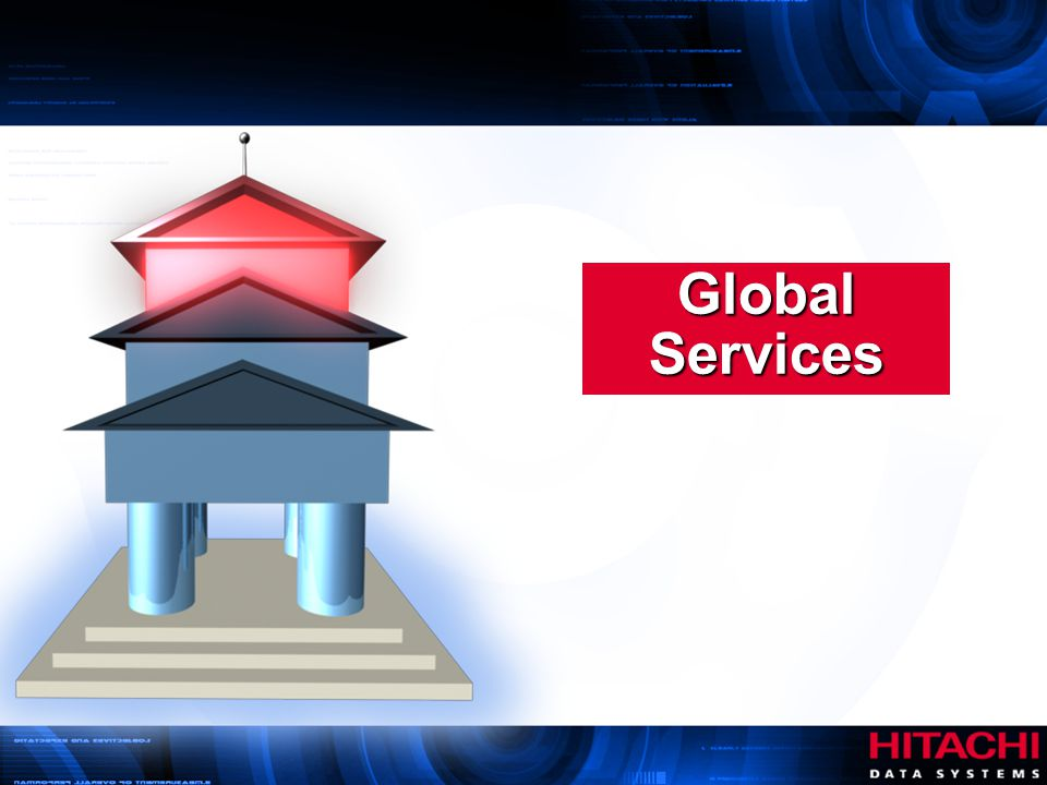 Global Services Hitachi Data Systems. Authorized Use Only.