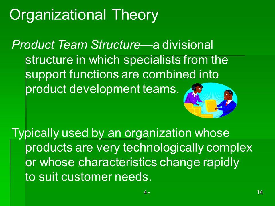 Organizational Theory