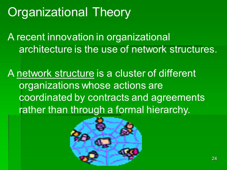What Are Organizational Theories?