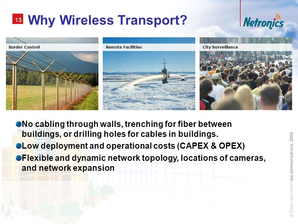 Why Wireless Transport