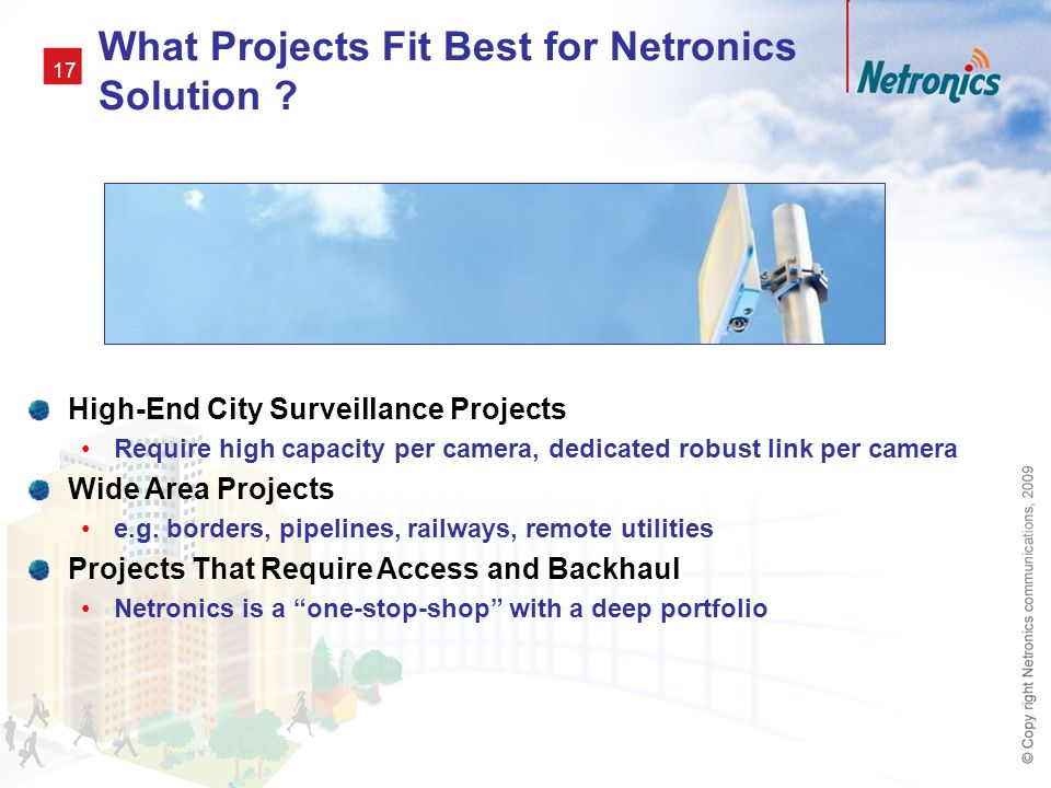 What Projects Fit Best for Netronics Solution