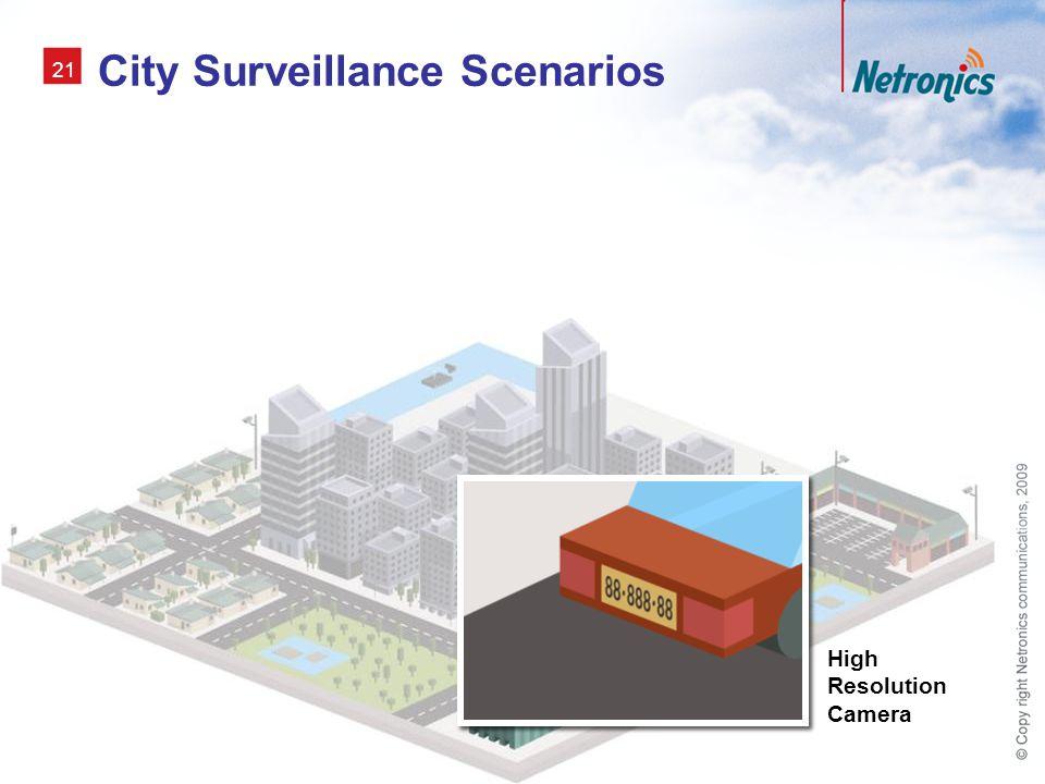 City Surveillance Scenarios