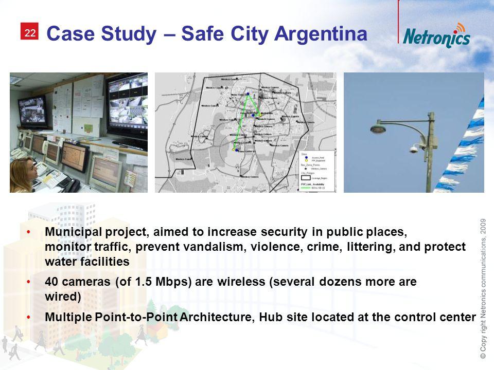 Case Study – Safe City Argentina