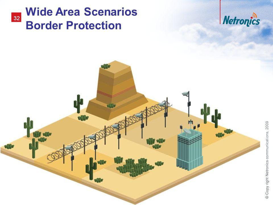 Wide Area Scenarios Border Protection