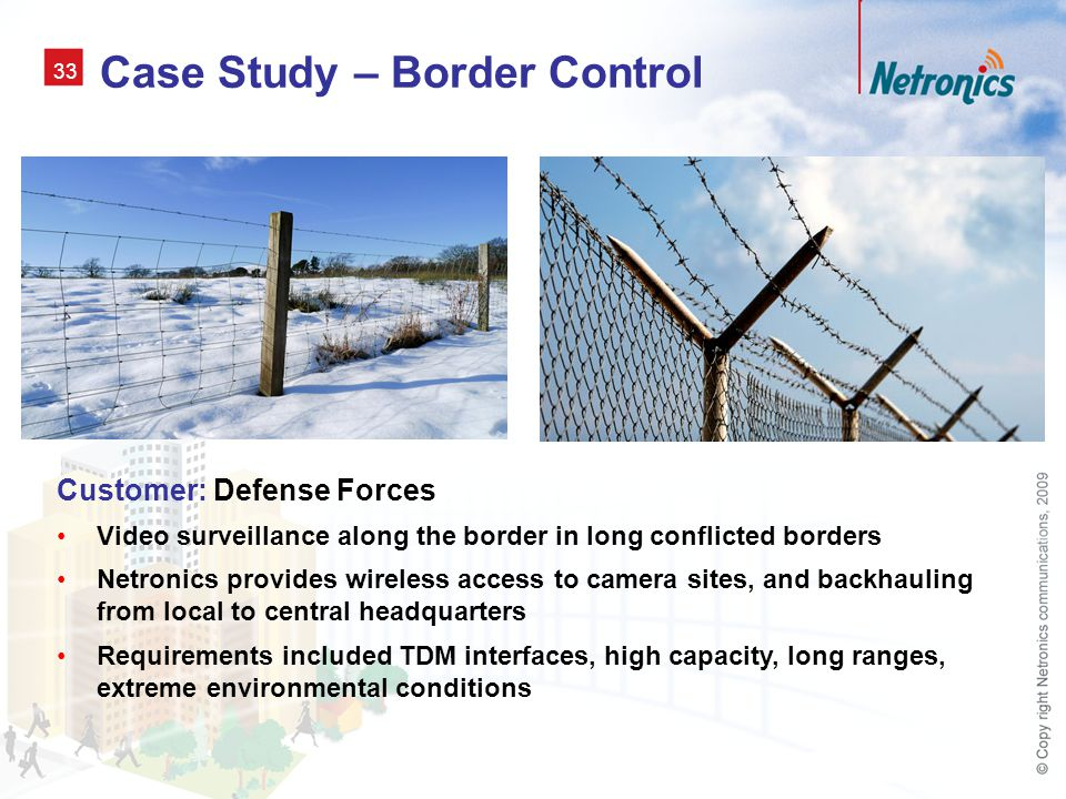 camera borders netronics wireless solutions for video surveillance ppt download