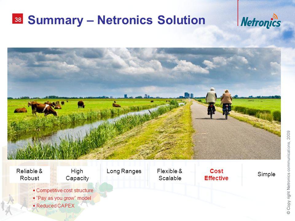 Summary – Netronics Solution