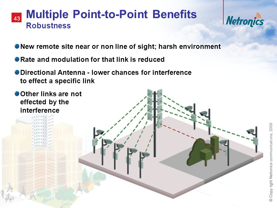 Multiple Point-to-Point Benefits