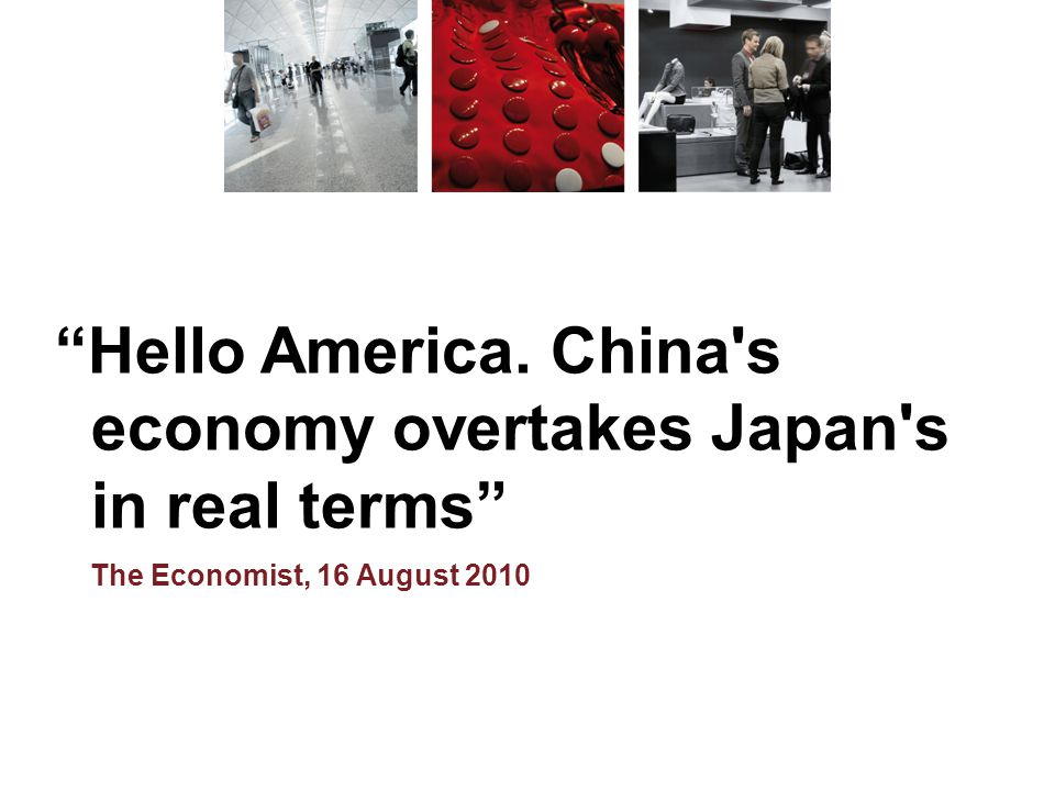 economy overtakes Japan s in real terms