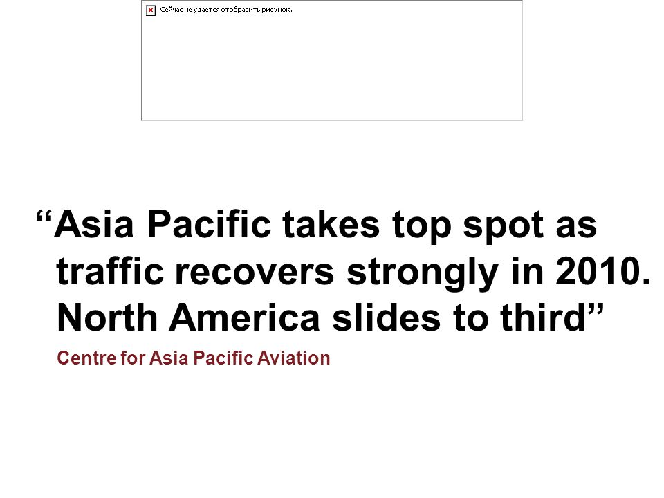 Asia Pacific takes top spot as
