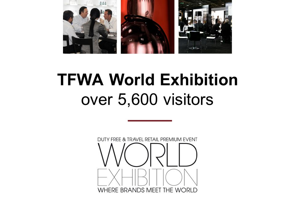 TFWA World Exhibition over 5,600 visitors ———
