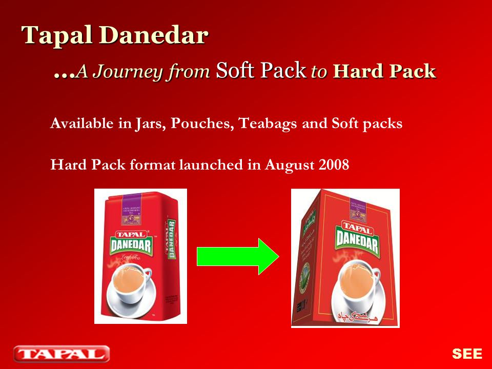 Tapal Danedar …A Journey from Soft Pack to Hard Pack