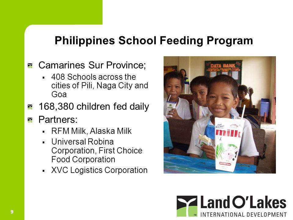 Philippines School Feeding Program