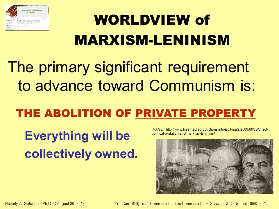 WORLDVIEW of MARXISM-LENINISM