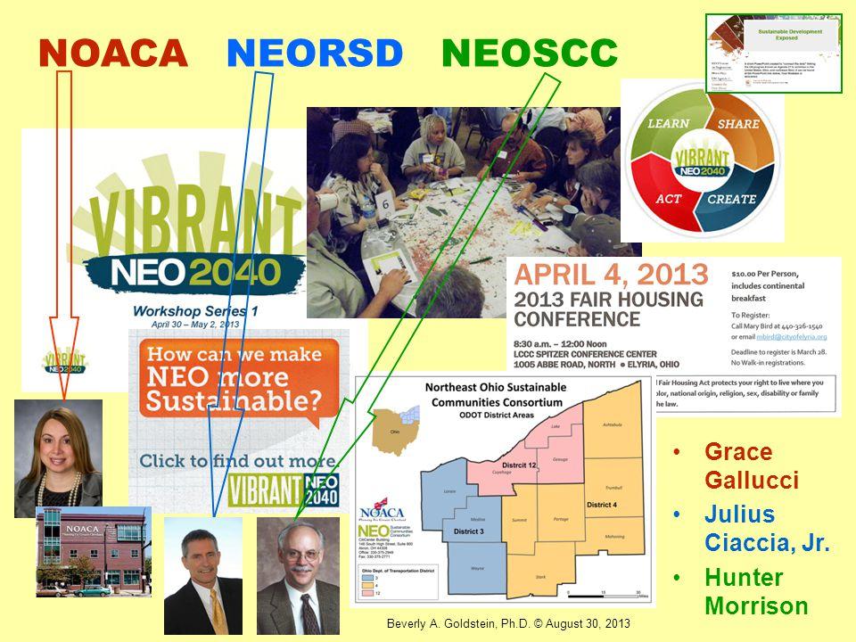 NOACA NEORSD NEOSCC Grace Gallucci Julius Ciaccia, Jr. Hunter Morrison