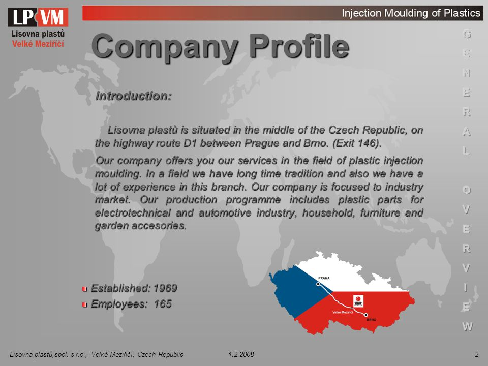Company Profile Introduction: