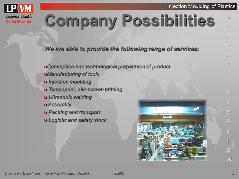 Company Possibilities