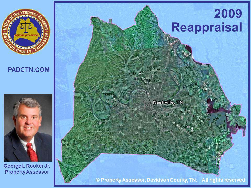 2009 Reappraisal PADCTN.COM George L Rooker Jr. Property Assessor