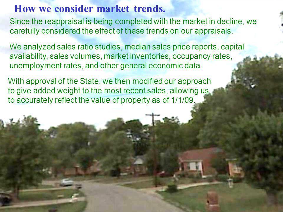 How we consider market trends.