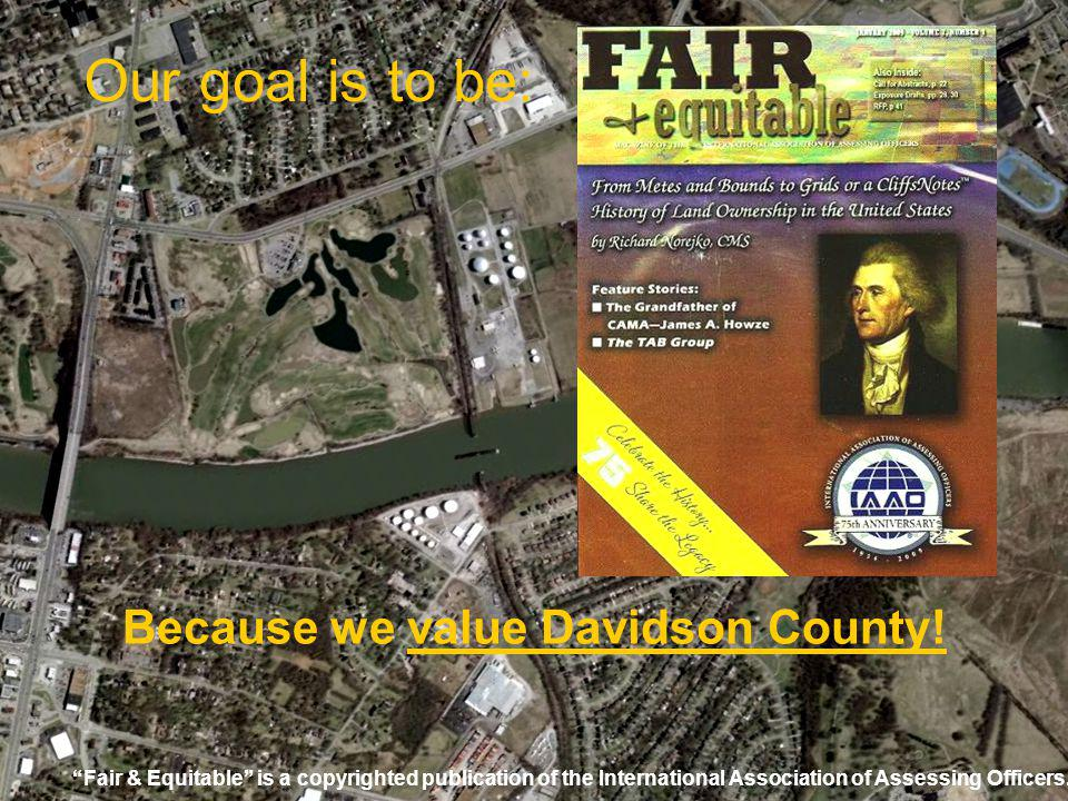 Because we value Davidson County!