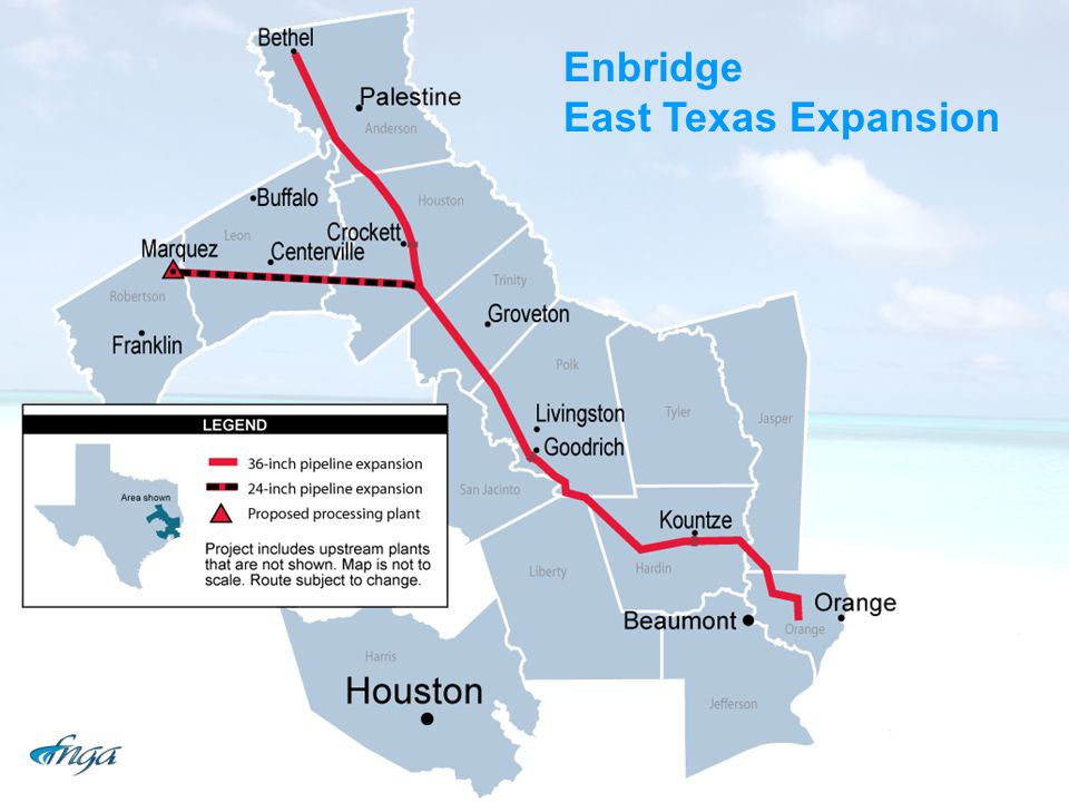 Enbridge East Texas Expansion
